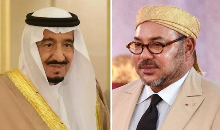 الملك يشيد بعلاقات البلدين في العيد الوطني للسعودية