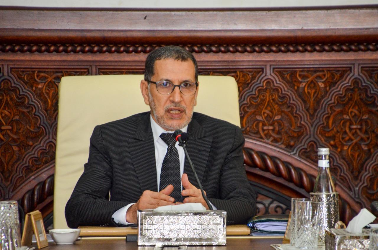 رئيس الحكومة سعد الدين العثماني يستقبل أعضاء حكومة الشباب الموازية المغربية
