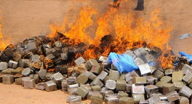 ورزازات: إتلاف كمية من المخدرات والمواد الغذائية الفاسدة