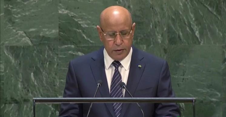 الأمم المتحدة..الرئيس المورتاني يصفع البوليساريو بطريقته الخاصة