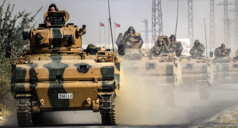 أردوغان يهدد مجددا باستئناف الاجتياح التركي للشمال السوري