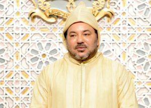 أمير المؤمنين محمد السادس يحيي ذكرى المولد بمسجد حسان