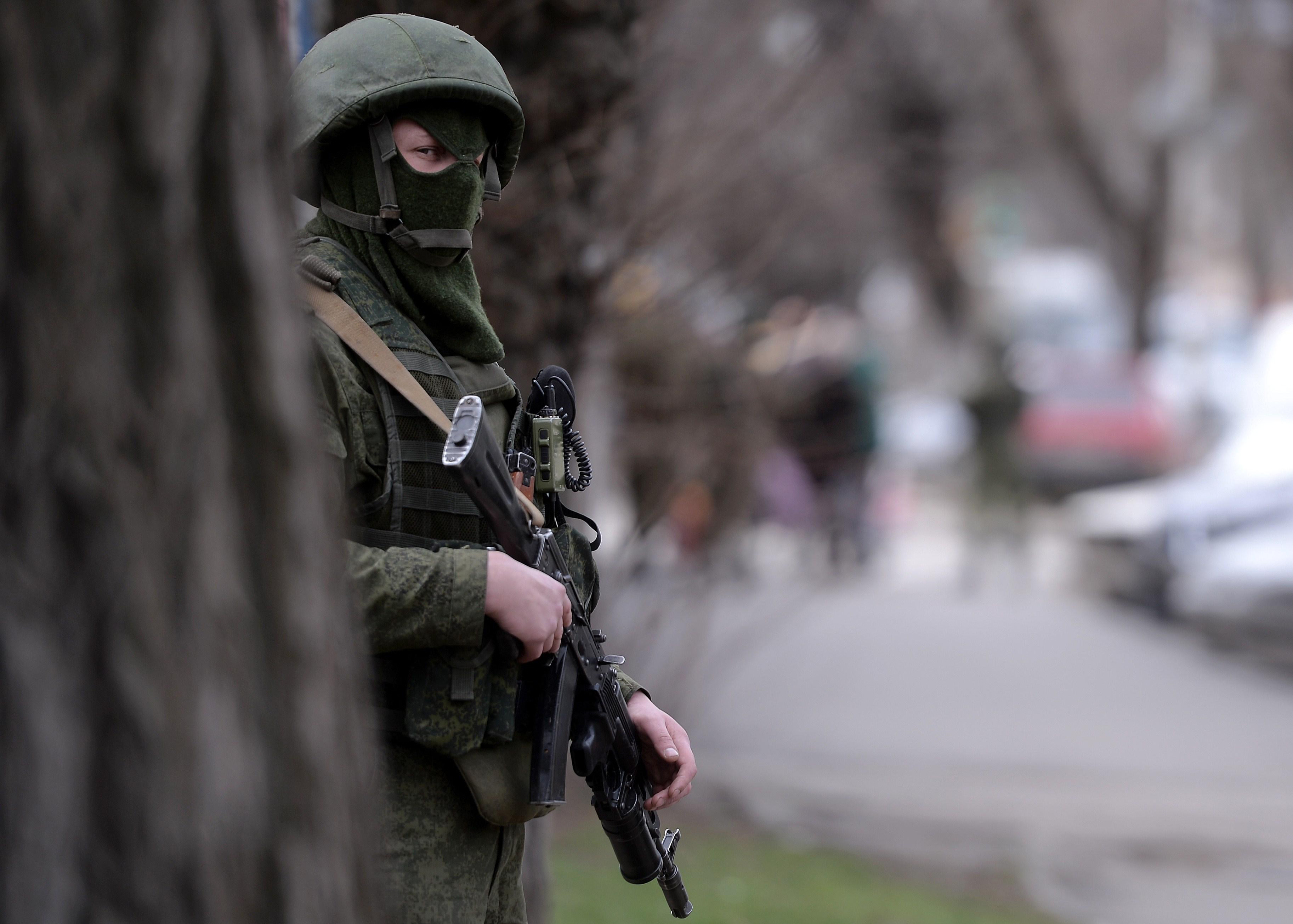 جندي روسي