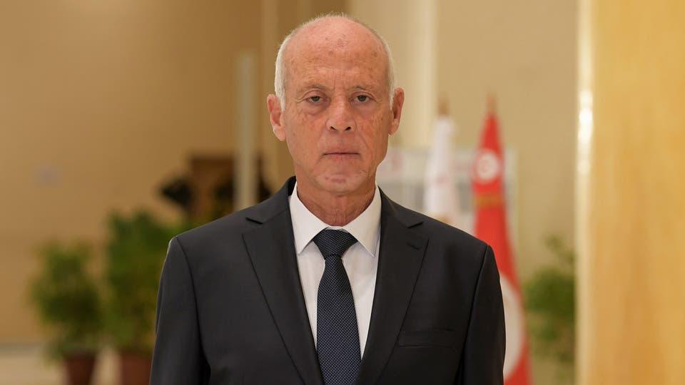 قيس سعيد الرئيس التونسي حظر تجول