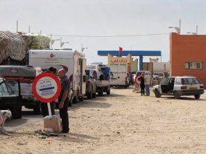 الكركرات..عودة الاحتقان إلى المعبر و موريتانيا بدون خضروات