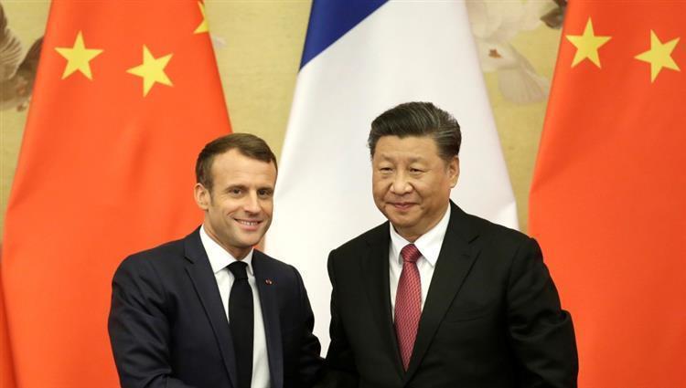 فرنسا و الصين توقعان اتفاقيات تجارية بقيمة 15 مليار دولار