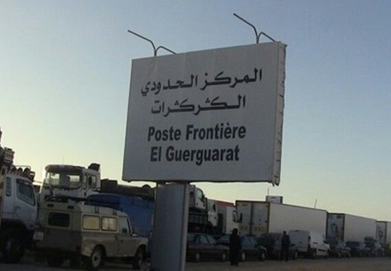 تجار يلجؤون لمعبر بحري بسبب استفزازات البوليساريو