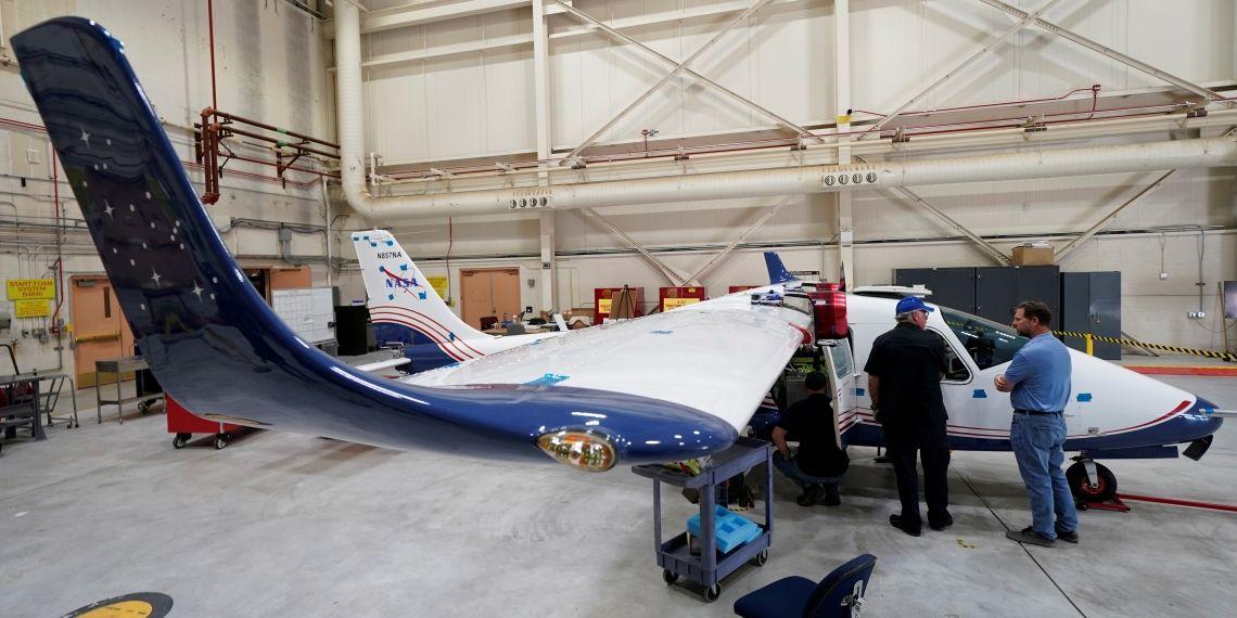 """""""ناسا"""" تكشف عن أول طائرة كهربائية"""