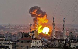 فلسطين إسرائيل تعلن انتهاء عدوانها على غزة