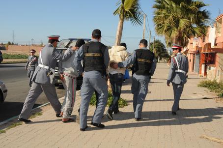 اعتقال جناة سرقوا مبلغ مالي من ضيعة فلاحية