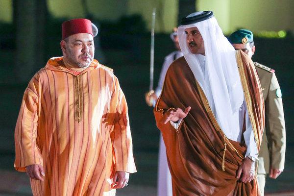 الملك يهنئ أمير دولة قطر بمناسبة احتفال بلاده بعيدها الوطني