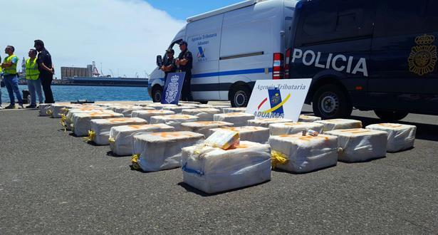 تفكيك شبكة دولية تنشط في تهريب والاتجار في المخدرات
