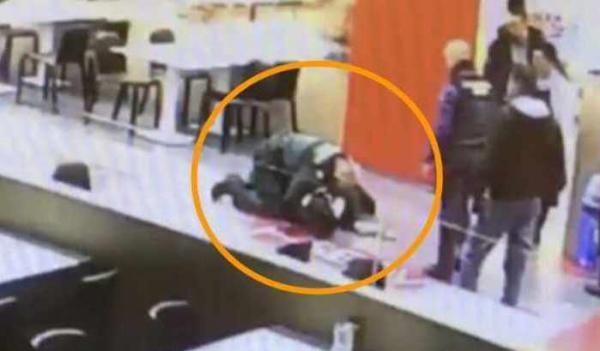 شرطي اسباني ينقذ مغربية
