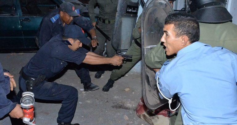 تدخل الشرطة
