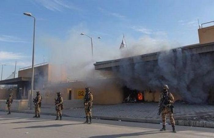 سقوط 5 صواريخ في محيط السفارة الأمريكية وسط بغداد