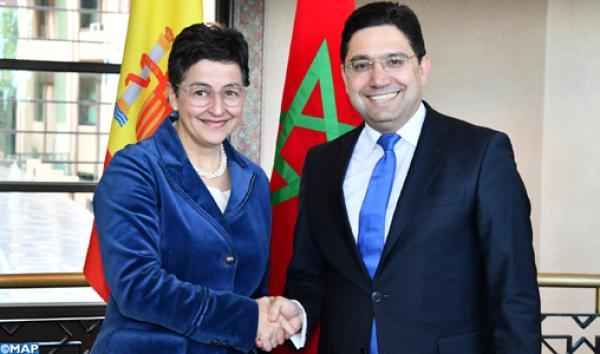 وزيرة الخارجية الإسبانية