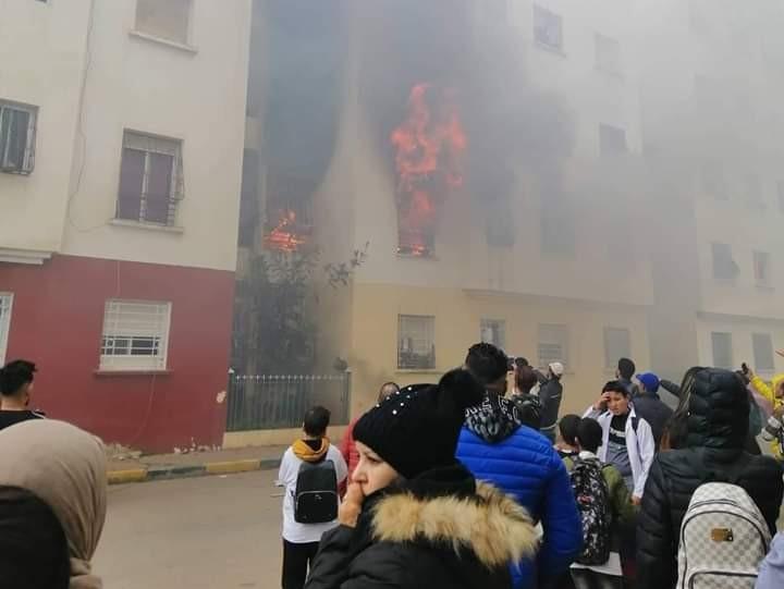 حريق سلا