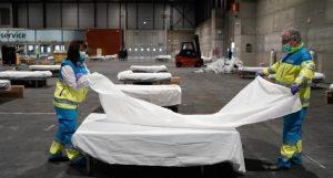 إيطاليا الوفيات في إسبانيا بسبب كورونا تتجاوز حصيلة الصين