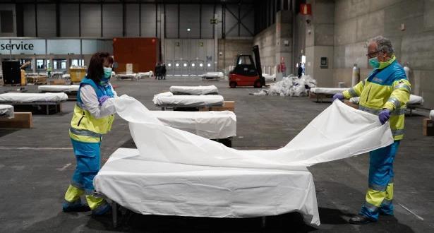 الوفيات في إسبانيا بسبب كورونا تتجاوز حصيلة الصين
