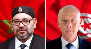 التونسية الملك يتلقة مكالمة هاتفية الرئاسة