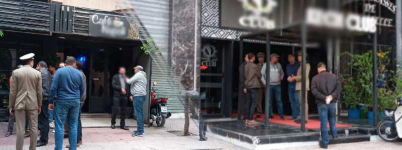 حملة إغلاق مقاهي الشيشة