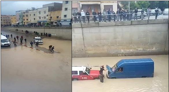 فاس فيضانات
