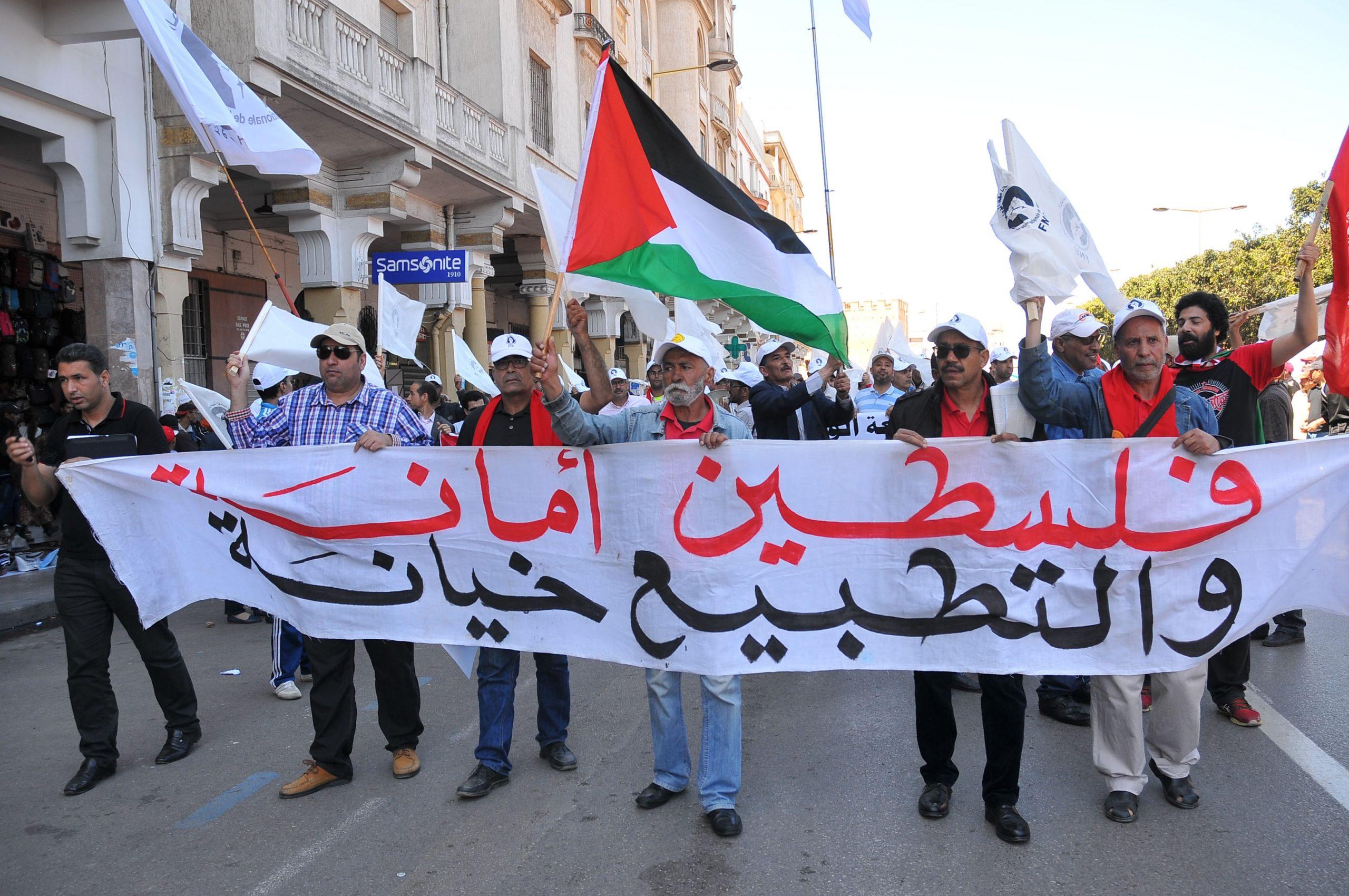 المرصد المغربي لمناهضة التطبيع يقصف القناة الثانية و يحذر الاستخفاف بسيادة و مواقف الشعب المغربي scaled