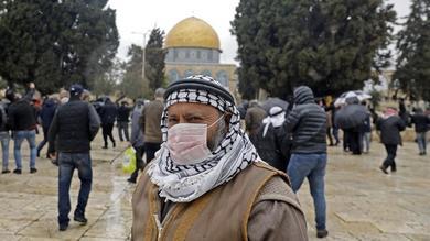 كورونا بفلسطين