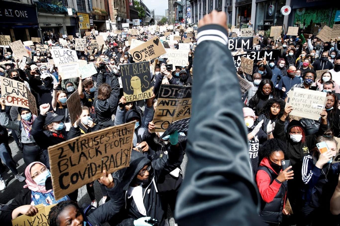 منع الاحتجاج ببريطانيا