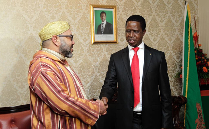 الرئيس الزامبي