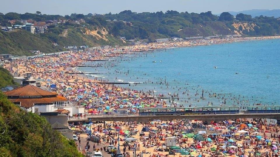 شواطئ انكلترا