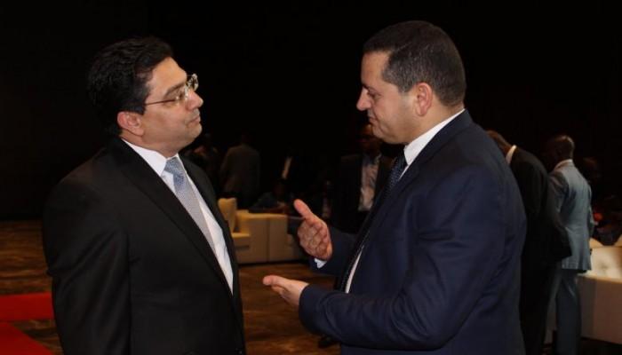 بوريطة ونظيره الليبي