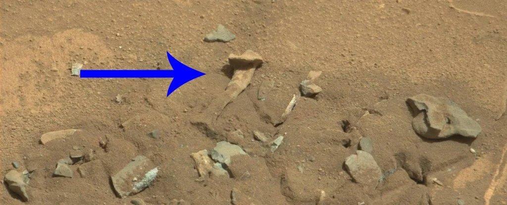 اكتشاف عظام بشرية عى المريخ