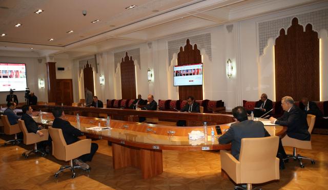 لجنة الداخلية بمجلس المستشارين