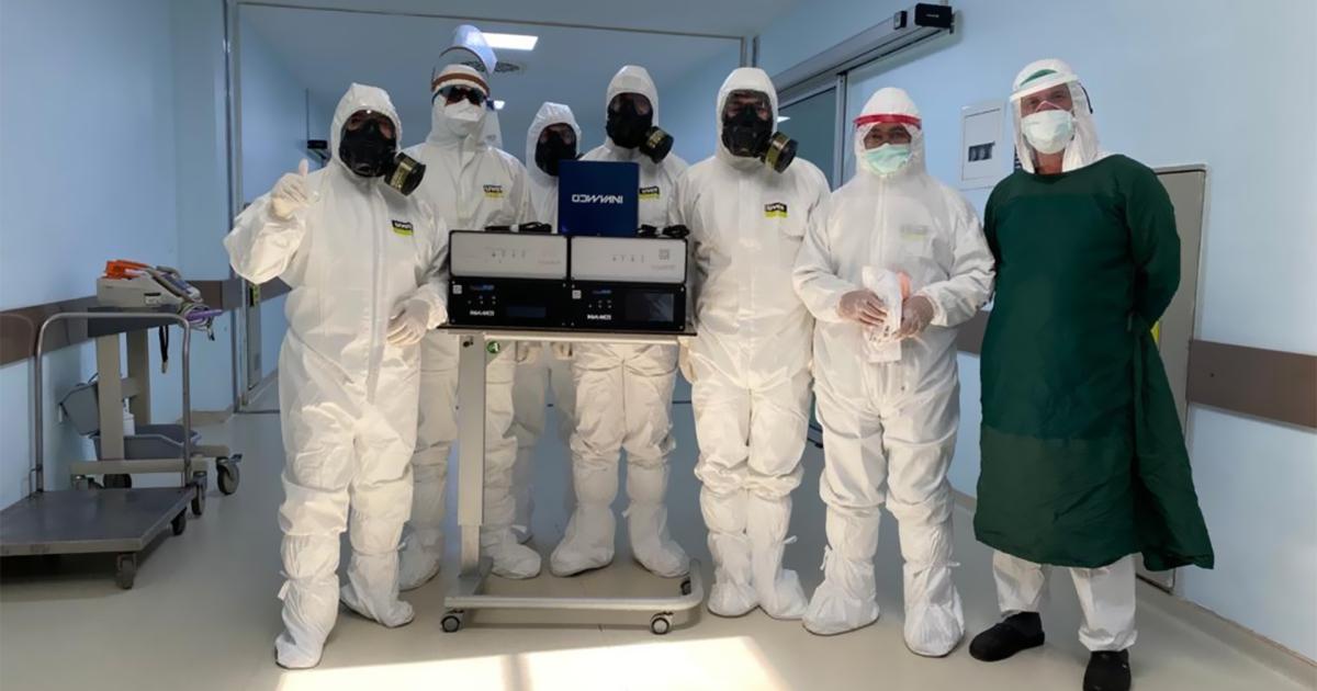نجاح علاج أول حالة كورونا بطريق الإشعاع