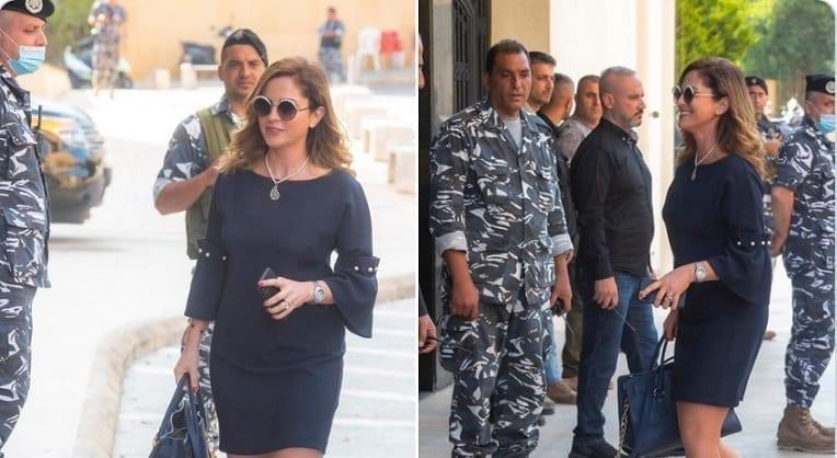 وزيرة الاعلام اللبنانية