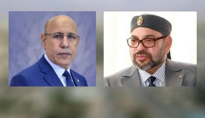 الرئيس الموريتاني يؤكد حرصه على تعزيز العلاقات مع المغرب لجلالة الملك