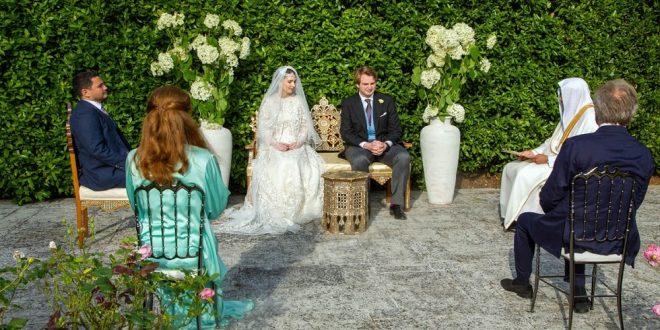 عقد قران أخت ملك الأردن على صحفي بريطاني بدون مراسم ملكية