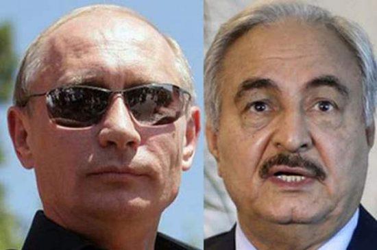 بوتين يرفض لقاء حفتر