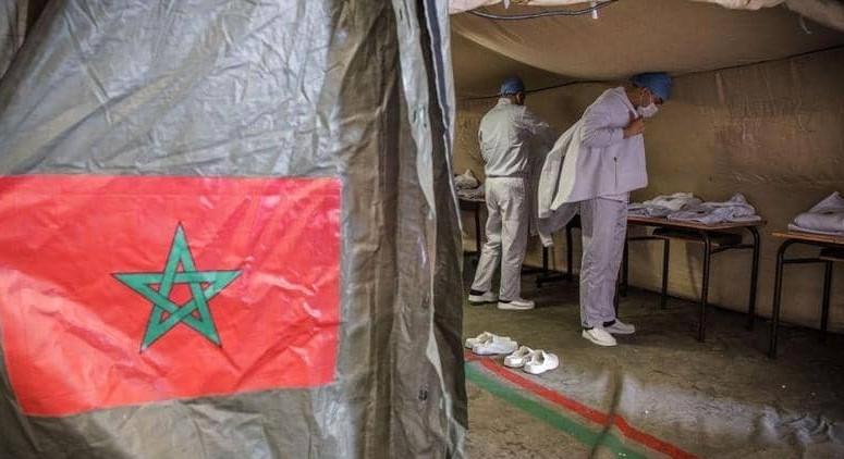 بعد التعليمات الملكية..المستشفى الميداني المغربي ببيروت يبدأ في تقديم خدماته