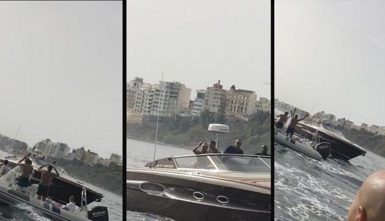 الملك محمد السادس بقاربه الترفيهي بساحل سبتة المحتلة
