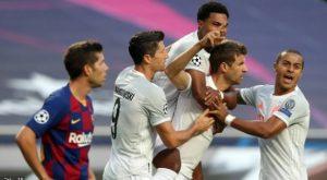 بايرن ميونيخ يكتسح برشلونة 8-2 ويبلغ نصف النهائي