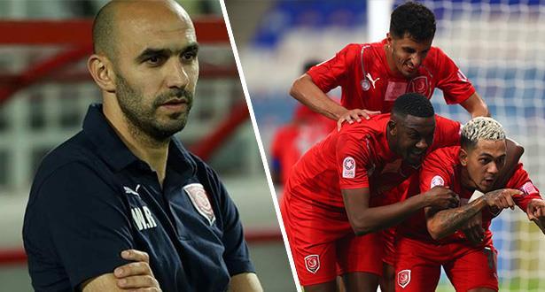 الركراكي يقود الدحيل للتتويج ببطولة قطر لكرة القدم
