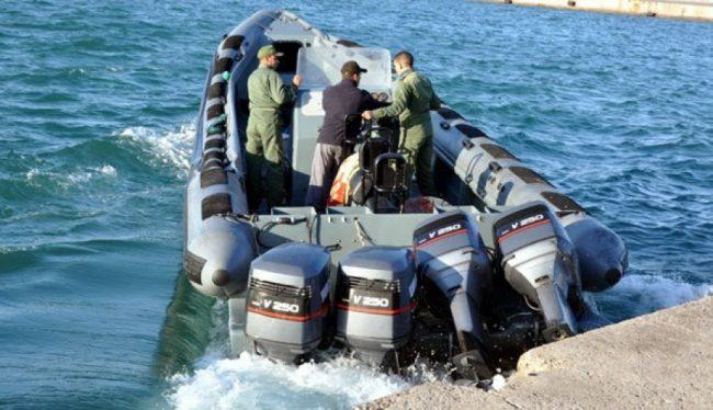 البحرية الملكية تحجز أزيد من ثلاثة أطنان ونصف من مخدر الشيرا في عرض المتوسط