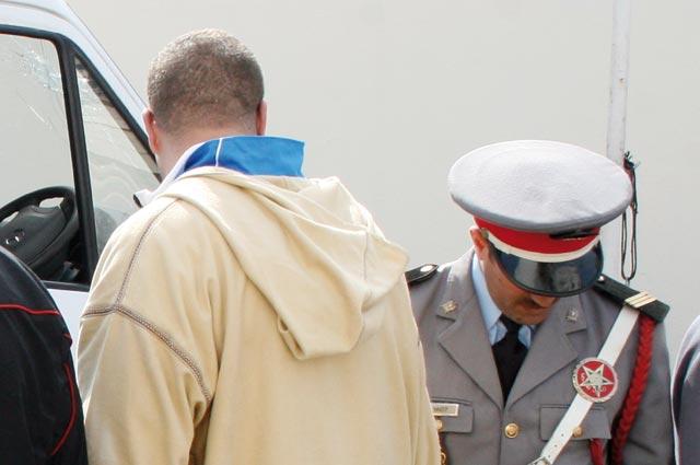 الفرقة الوطنية للدرك توقف المتهم الرئيسي في قضية اطنان المخدرات المحجوزة بآسفي مؤخرا