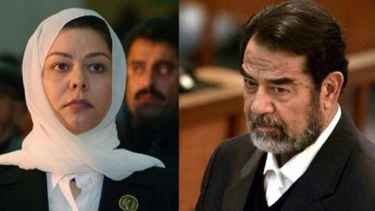 رغد صدام حسين تهنأ السعودية