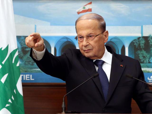 """الرئيس عون: لبنان """"ذاهب إلى جهنم"""" ويحتاج معجزة """"فيديو"""""""