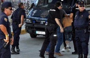الشرطة إسبانيا