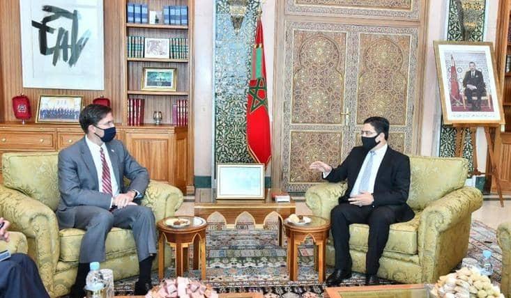 تعاون امريكي مغربي