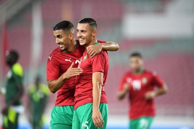المنتخب المغربي يهزم نظيره السنغالي في مباراة ودية